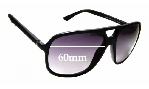 Sunglass Fix Sunglass Replacement Lenses for Gucci GG 1091/S - 60mm wide