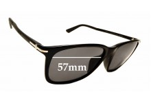 Sunglass Fix Sunglass Replacement Lenses for Gucci GG 1107/F/S - 57mm Wide