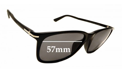 Sunglass Fix Sunglass Replacement Lenses for Gucci GG 1107F/S - 57mm wide