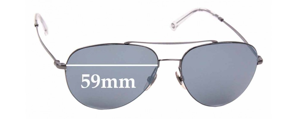 Sunglass Fix Sunglass Replacement Lenses for Gucci GG 2245/S - 59mm Wide
