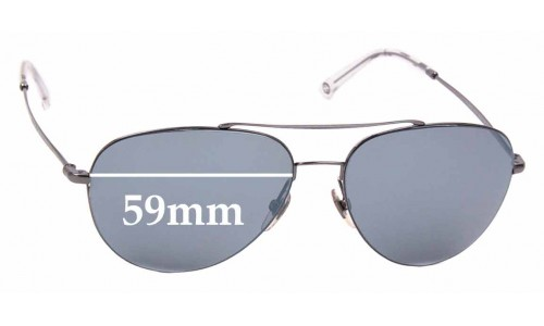 Sunglass Fix Sunglass Replacement Lenses for Gucci 2245/S - 59mm wide