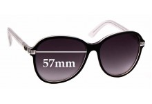 Sunglass Fix Sunglass Replacement Lenses for Gucci GG 3193/S - 57mm Wide