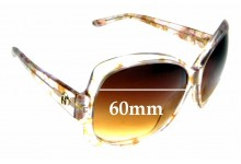 Sunglass Fix Sunglass Replacement Lenses for Gucci GG 3581/S - 60mm Wide