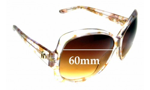 Sunglass Fix Sunglass Replacement Lenses for Gucci 3581/S - 60mm wide