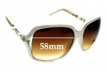 Sunglass Fix Sunglass Replacement Lenses for Gucci GG3584 - 58mm Wide