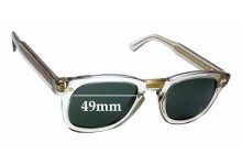 Sunglass Fix Sunglass Replacement Lenses for Gucci GG 0182/S - 49mm Wide