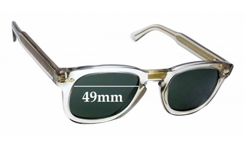 Sunglass Fix Sunglass Replacement Lenses for Gucci GG0182S - 49mm wide