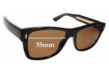 Sunglass Fix Sunglass Replacement Lenses for Gucci GG1149/S - 55mm Wide