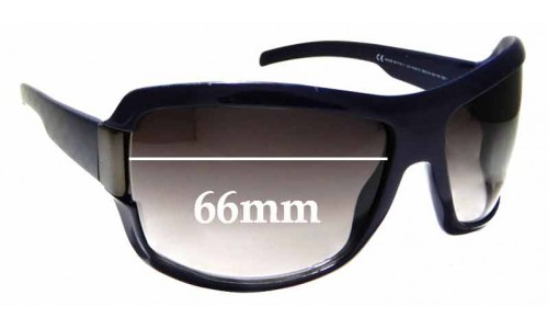 Sunglass Fix Sunglass Replacement Lenses for Gucci GG1546/S - 66mm Wide