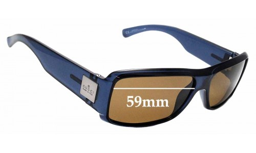 Sunglass Fix Sunglass Replacement Lenses for Gucci GG1563/S - 59mm wide