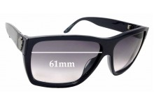 Sunglass Fix Sunglass Replacement Lenses for Gucci GG 1603/S - 61mm Wide