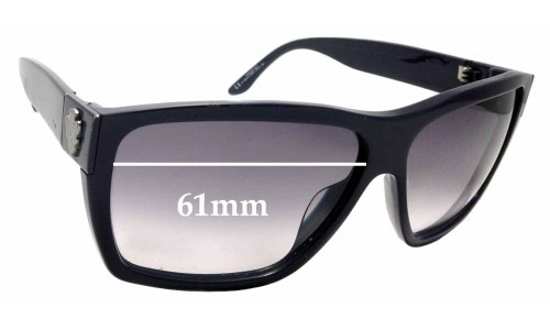 Sunglass Fix Sunglass Replacement Lenses for GUCCI GG1603/S - 61mm wide