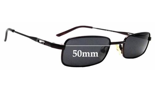 Sunglass Fix Sunglass Replacement Lenses for Gucci GG1637 - 50mm wide