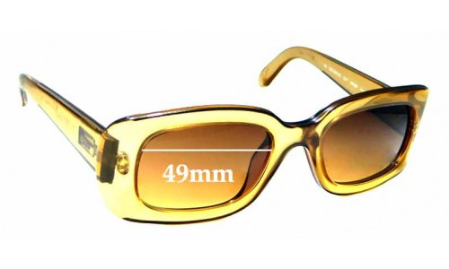 Sunglass Fix Sunglass Replacement Lenses for Gucci GG2431/S - 49mm wide