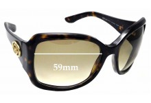 Sunglass Fix Sunglass Replacement Lenses for Gucci GG 2965/S - 59mm Wide