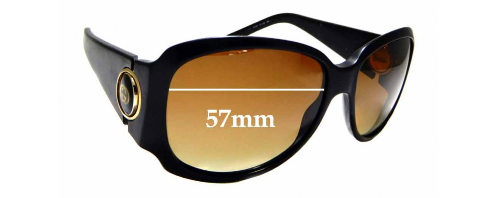 Sunglass Fix Sunglass Replacement Lenses for Gucci GG3104/S - 57mm Wide