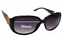 Sunglass Fix Sunglass Replacement Lenses for Gucci GG 3578/S - 58mm Wide