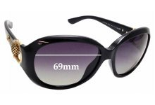 Sunglass Fix Sunglass Replacement Lenses for Gucci GG 3712/S - 59mm Wide