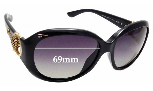 Sunglass Fix Sunglass Replacement Lenses for Gucci 3712/S - 59mm wide