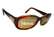 Sunglass Fix Sunglass Replacement Lenses for Guess GU6225 - 54mm Wide
