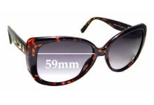 Sunglass Fix Sunglass Replacement Lenses for Guess GUP 2013 - 59mm Wide