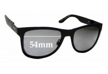 Sunglass Fix Sunglass Replacement Lenses for Tommy Hilfiger / Specsavers TH Sun Rx 15 - 54mm Wide