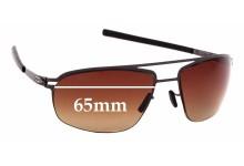 Sunglass Fix Sunglass Replacement Lenses for IC! Berlin Waleed - 65mm Wide