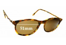 Sunglass Fix Sunglass Replacement Lenses for James Dean Curtis Monterry - 51mm