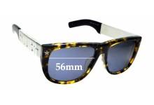 Sunglass Fix Sunglass Replacement Lenses for Jean Paul Gaultier 56-8272 - 56mm Wide
