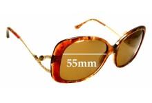 Sunglass Fix Sunglass Replacement Lenses for Judith Leiber JL1654 - 55mm Wide