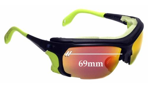 Sunglass Fix Sunglass Replacement Lenses for Julbo Trek - 69mm Wide