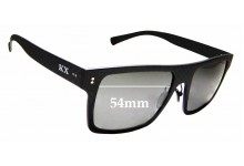 Sunglass Fix Sunglass Replacement Lenses for Karbon Worx Drivers - 54mm Wide