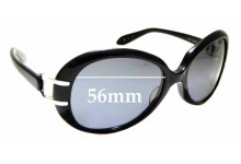 Sunglass Fix Sunglass Replacement Lenses for Kieselstein-Cord Last Tango - 56mm Wide
