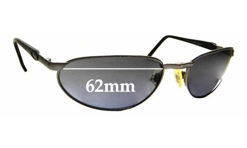 Sunglass Fix Sunglass Replacement Lenses for Killer Loop K1311 - 62mm Wide