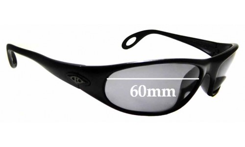 Sunglass Fix Sunglass Replacement Lenses for Killer Loop K1090  The Heist - 60mm Wide