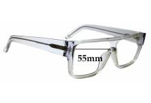 Sunglass Fix Sunglass Replacement Lenses for Ksubi Alkes - 55mm Wide