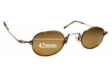 Sunglass Fix Sunglass Replacement Lenses for Lanvin 1212 - 42mm Wide