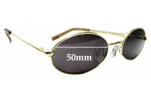 Sunglass Fix Sunglass Replacement Lenses for Le Specs Love Train - 50mm Wide