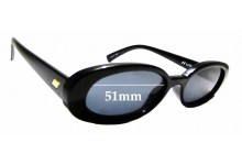 Sunglass Fix Sunglass Replacement Lenses for Le Specs Outta Love - 51mm Wide