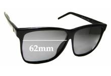 Sunglass Fix Sunglass Replacement Lenses for Liz Claiborne - 62mm Wide x 52.5mm Tall