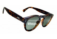 Sunglass Fix Sunglass Replacement Lenses for Local Supply Freeway - 48mm Wide