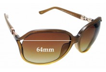 Sunglass Fix Sunglass Replacement Lenses for Loewe SLW 785G - 64mm Wide