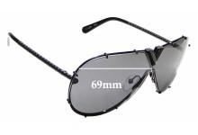 Sunglass Fix Sunglass Replacement Lenses for Louis Vuitton LV Drive Z2345W - 69mm Wide