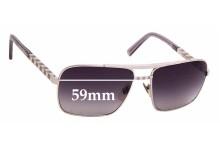 Sunglass Fix Sunglass Replacement Lenses for Louis Vuitton Z0260U - 59mm Wide
