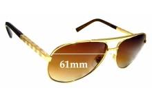 Sunglass Fix Sunglass Replacement Lenses for Louis Vuitton Z0339U - 61mm Wide