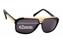 Sunglass Fix Sunglass Replacement Lenses for Louis Vuitton Evidence Millionaire Z0350W - 62mm Wide