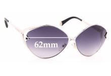 Sunglass Fix Sunglass Replacement Lenses for Louis Vuitton Z0411U - 62mm Wide