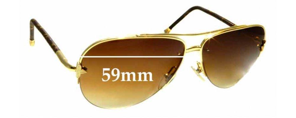94b51f23b9f1 Sunglass Fix Sunglass Replacement Lenses for Louis Vuitton Z057IU- 59mm  wide | Sunglass Fix Australia