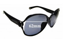 Sunglass Fix Sunglass Replacement Lenses for Marc By Marc Jacobs MMJ 90/F/S - 62mm Wide