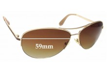Sunglass Fix Sunglass Replacement Lenses for Marc By Marc Jacobs MMJ 119/S - 59mm Wide